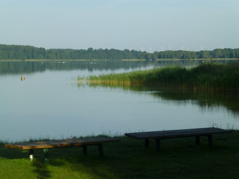 morning impression at Camping Malchow