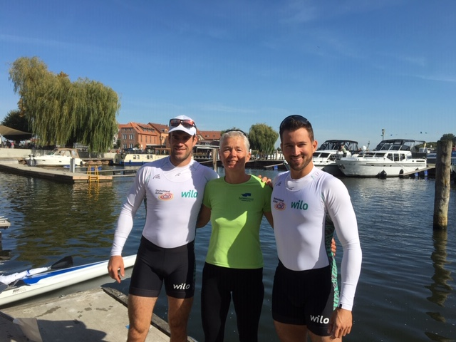 likeable: Felix und Nico from german 8+ team